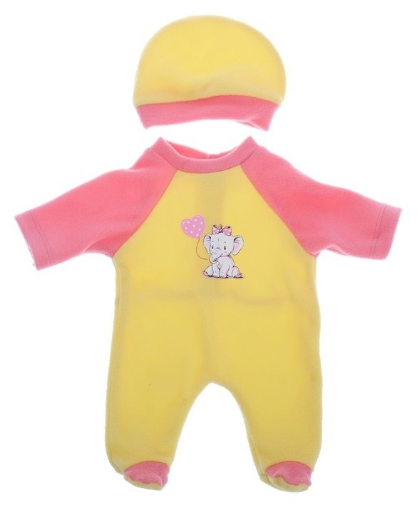 Одежда для кукол Комбинезон Малыш, микс  Colibri