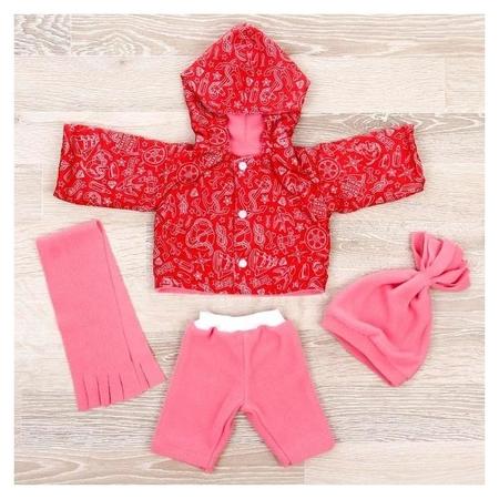Одежда для кукол Комплект Тёплый из 4-х предметов, микс  Colibri