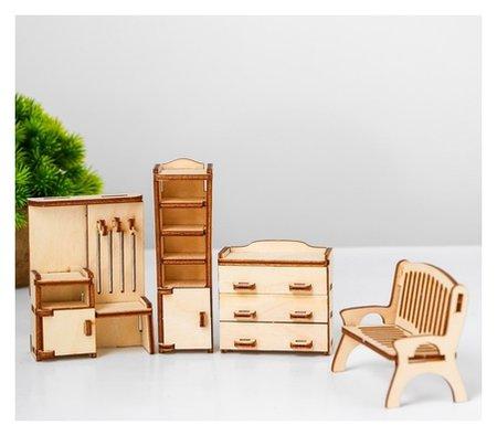 Набор мебели для кукол Прихожая  Лесная мастерская