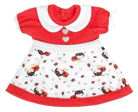 Одежда для кукол Платье Забияка, микс  Colibri