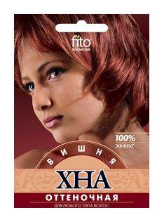 """Хна оттеночная для волос """"Вишня""""  Фитокосметик"""