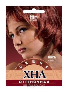 """Хна оттеночная для волос """"Вишня"""""""