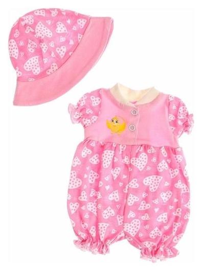 Одежда для кукол Песочник со шляпкой, микс  Colibri