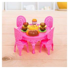 Набор мебели для кукол, цвет микс