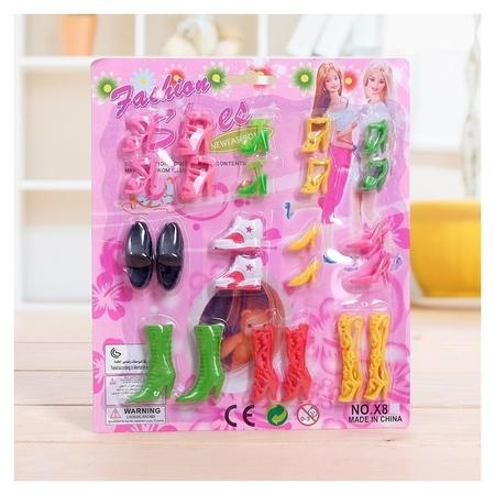 Набор обуви для кукол  КНР Игрушки