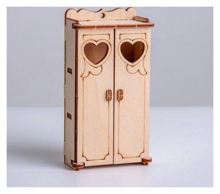 Кукольная мебель Шкаф  Лесная мастерская
