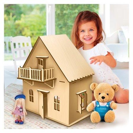 Кукольный дом малый  Лесная мастерская