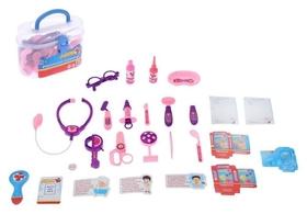 Набор доктора Маленький врач-4 в чемодане, 17 предметов