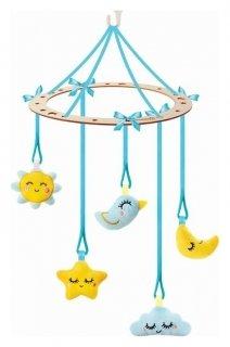 Подвеска с игрушками на мобиль Сладкий сон