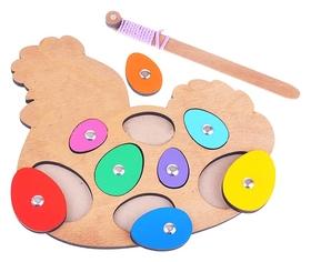 Игра с магнитами «Курочка-несушка»