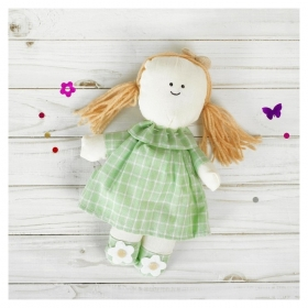 Мягкая игрушка-подвеска кукла Людмила