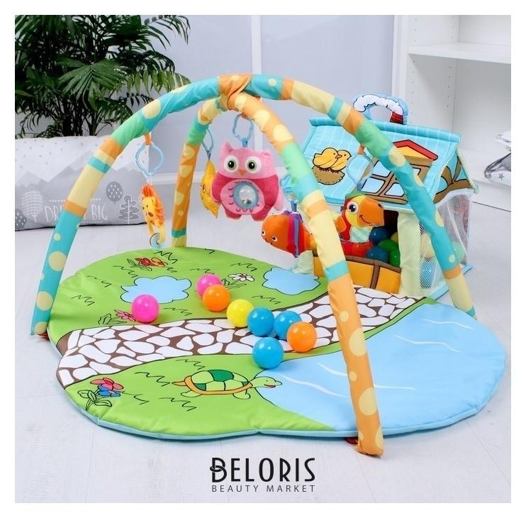 Развивающий коврик Домик для игрушек с дугами КНР