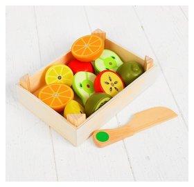 Набор продуктов в ящике Сочные фрукты