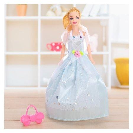 Кукла модель Милена в пышном платье с аксессуарами  КНР Игрушки