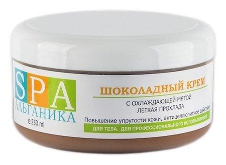 Шоколадный крем с охлаждающей мятой  Альганика
