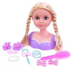 Кукла-манекен для создания причёсок Катрина с аксессуарами