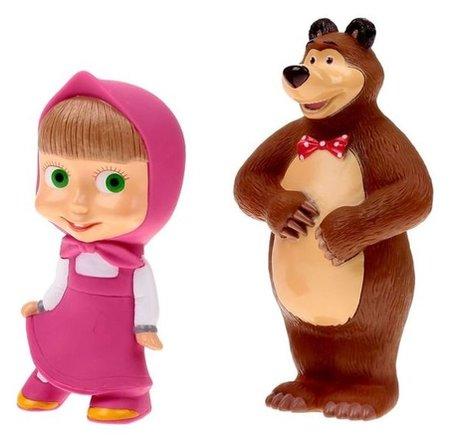 Набор резиновых игрушек Маша и Медведь