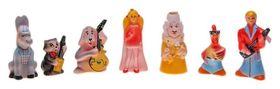 Набор резиновых игрушек Бременские музыканты