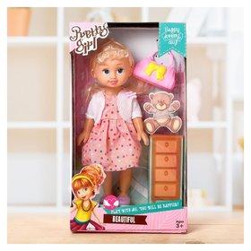 Кукла Наташа с аксессуарами