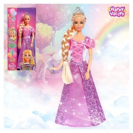 Кукла Сказочная принцесса - история о волшебных волосах  Happy Valley
