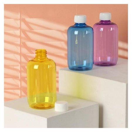 Бутылочка для хранения из цветного пластика, 250 мл  Onlitop
