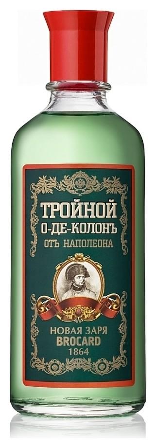 """Одеколон """"Тройной от Наполеона""""  Новая Заря"""