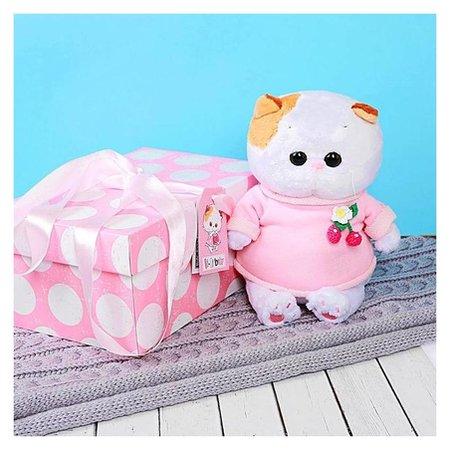Мягкая игрушка Кошечка Ли-Ли BABY в толстовке 20 см  Басик и Ко