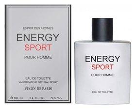 Туалетная вода Энержи спорт Energy Sport  Новая Заря
