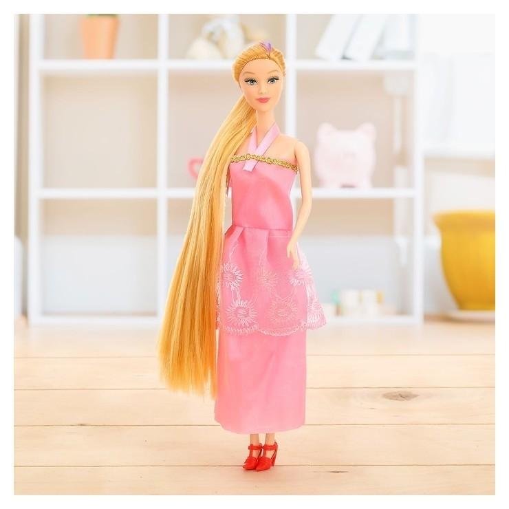 Кукла модель Анита с длинными волосами КНР Игрушки