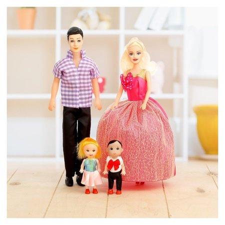 Набор кукол Семья  КНР Игрушки