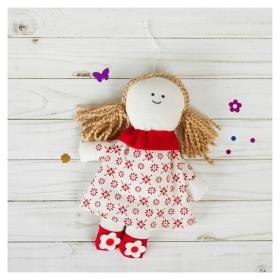 Мягкая игрушка-подвеска Людмила цветочки на ножках