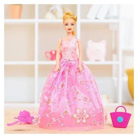 Кукла модель Яна в платье с аксессуарами  КНР Игрушки