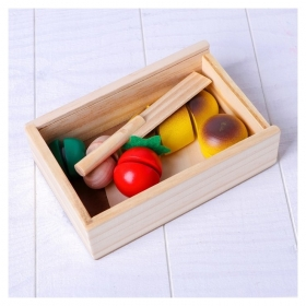 Деревянная игрушка Вкусный завтрак