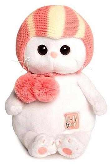 Мягкая игрушка Кошечка Ли-Ли BABY в спортивной шапке, 20 см  Басик и Ко