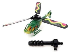 Вертолёт «Разведчик» с запуском