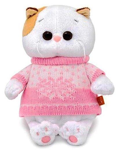 Мягкая игрушка Кошечка Ли-Ли BABY в свитере, 20 см  Басик и Ко