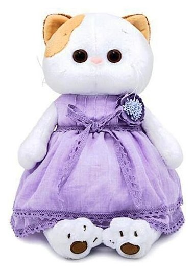 Мягкая игрушка Ли-Ли в лавандовом платье 24 см  Басик и Ко