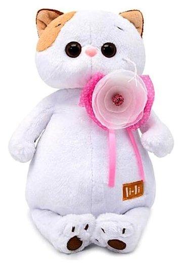 Мягкая игрушка Ли-Ли с цветком 24 см  Басик и Ко