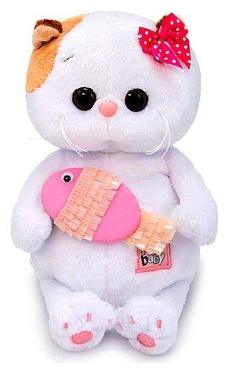 Мягкая игрушка Ли-Ли Baby с рыбкой 20 см  Басик и Ко