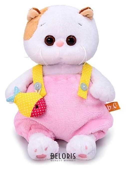 Мягкая игрушка Ли-Ли BABY в меховом комбинезоне 20 см Басик и Ко