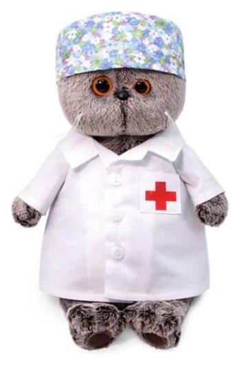 Мягкая игрушка Басик-доктор 25 см  Басик и Ко