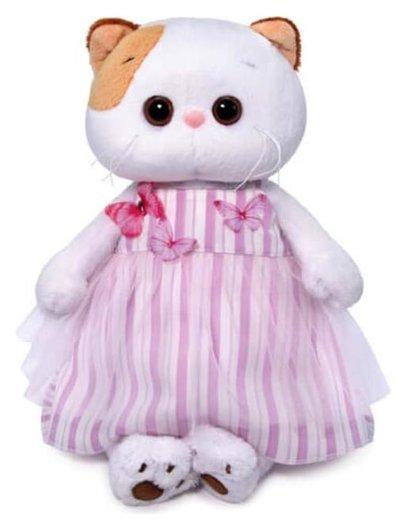Мягкая игрушка Ли-Ли в платье с бабочками 24 см  Басик и Ко