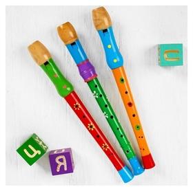 Музыкальная игрушка «Дудочка большая», цвета микс