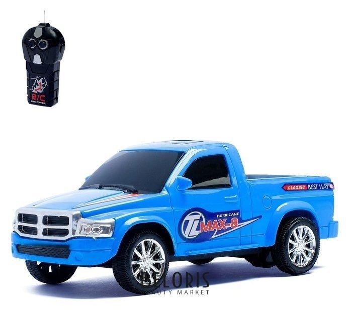 Машина радиоуправляемая Пикап синий КНР Игрушки