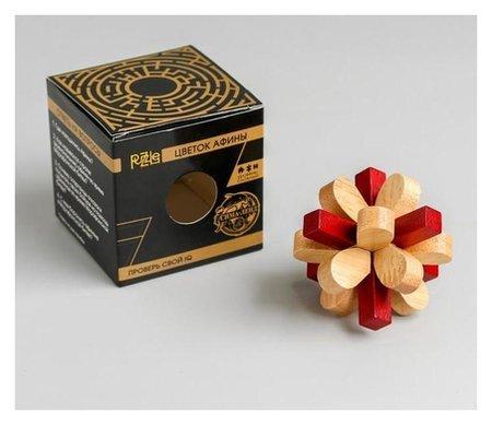 Головоломка деревянная Игры разума Цветок Афины  Interpuzzles