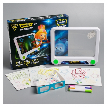 3D-планшет для рисования Фикси планшет  Фиксики