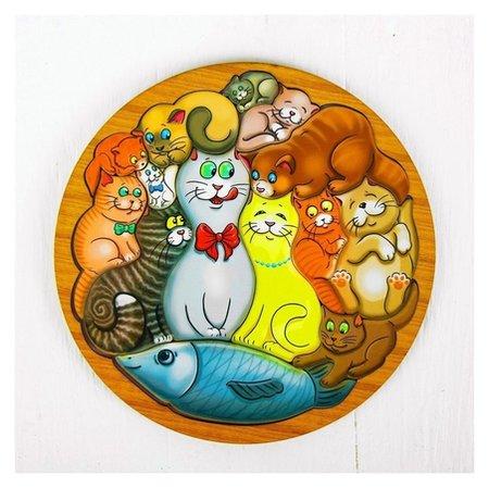 Головоломка Коты  Smile Decor