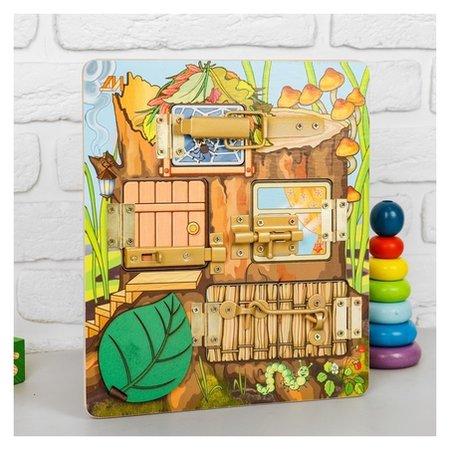 Бизиборд «Теремок»  Деревянные игрушки Динни
