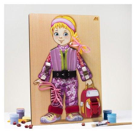 Бизиборд «Алёнка»  Деревянные игрушки Динни