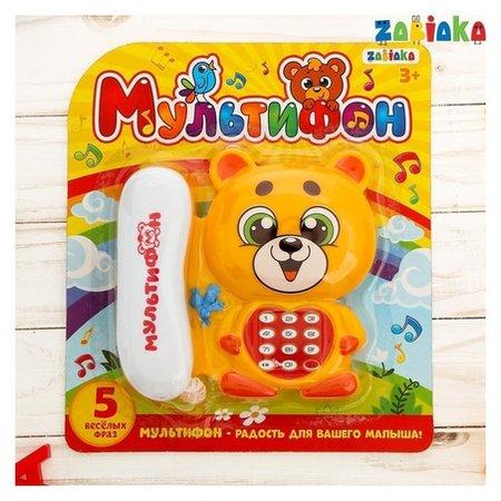 Телефон стационарный «Мишка»  Zabiaka